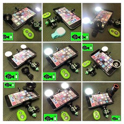 Self Take Selfie Fish Mobile Phone Holder Fishing Fishing. Bank Stick Adapter