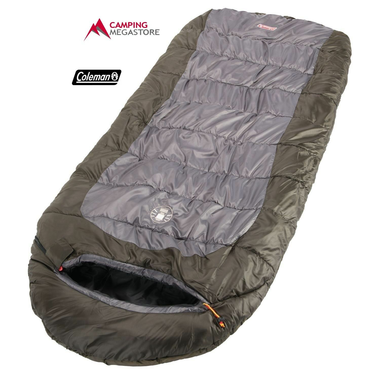 COLEMAN PIONEER   - 3 C SLEEPING BAG BIG & TALL (85CM X 235CM)  big savings