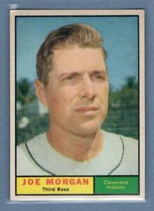1961 Topps #511 Joe Morgan Cleveland Indians Baseball Card