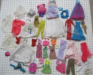 Vintage Modern Barbie Craft Lot 66 Tlc Clothing Outfits Shoes Lot Chelsea Doll Ebay