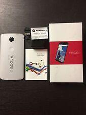 New Overstock Verizon XT1103 Nexus 6 White 32GB also unlocked for ATT T-Mobile