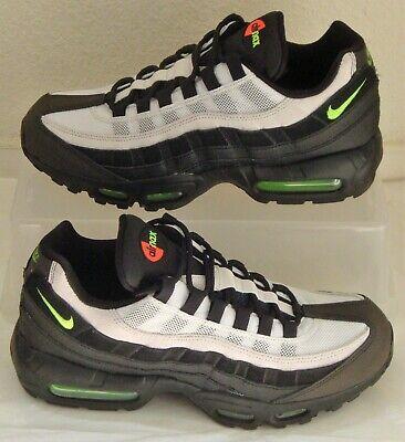 Nike Air Max 95 Black Electric Green Mens US Size 7.5 UK 6.5 EUR 40.5 AT9865 004 193151634016 | eBay