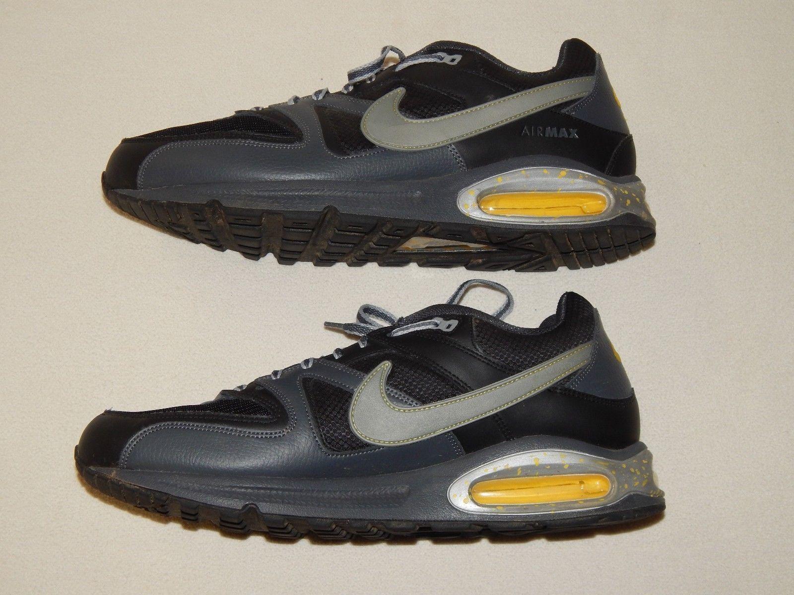 NIKE Air Max Command Sneaker 90 95 97 Gr:40 Premium Schuhe Black/yellow