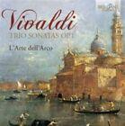 Vivaldi Guglielmo L'arte Dell Arco - Trio Sonatas Op. 1 CD