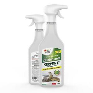 Disabituante Repellente Dissuasore Serpenti Vipere Gechi Rettili Spray 750 ml