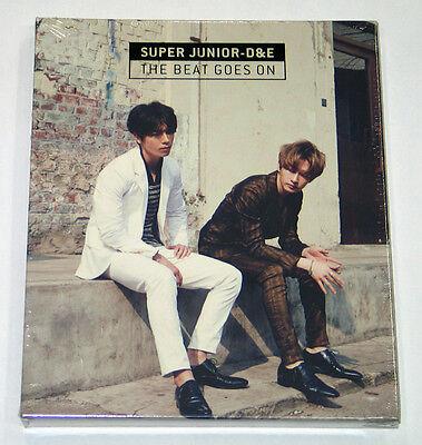 Super Junior D&E DONGHAE & EUNHYUK - The Beat Goes On (CD+Poster) K-POP KPOP