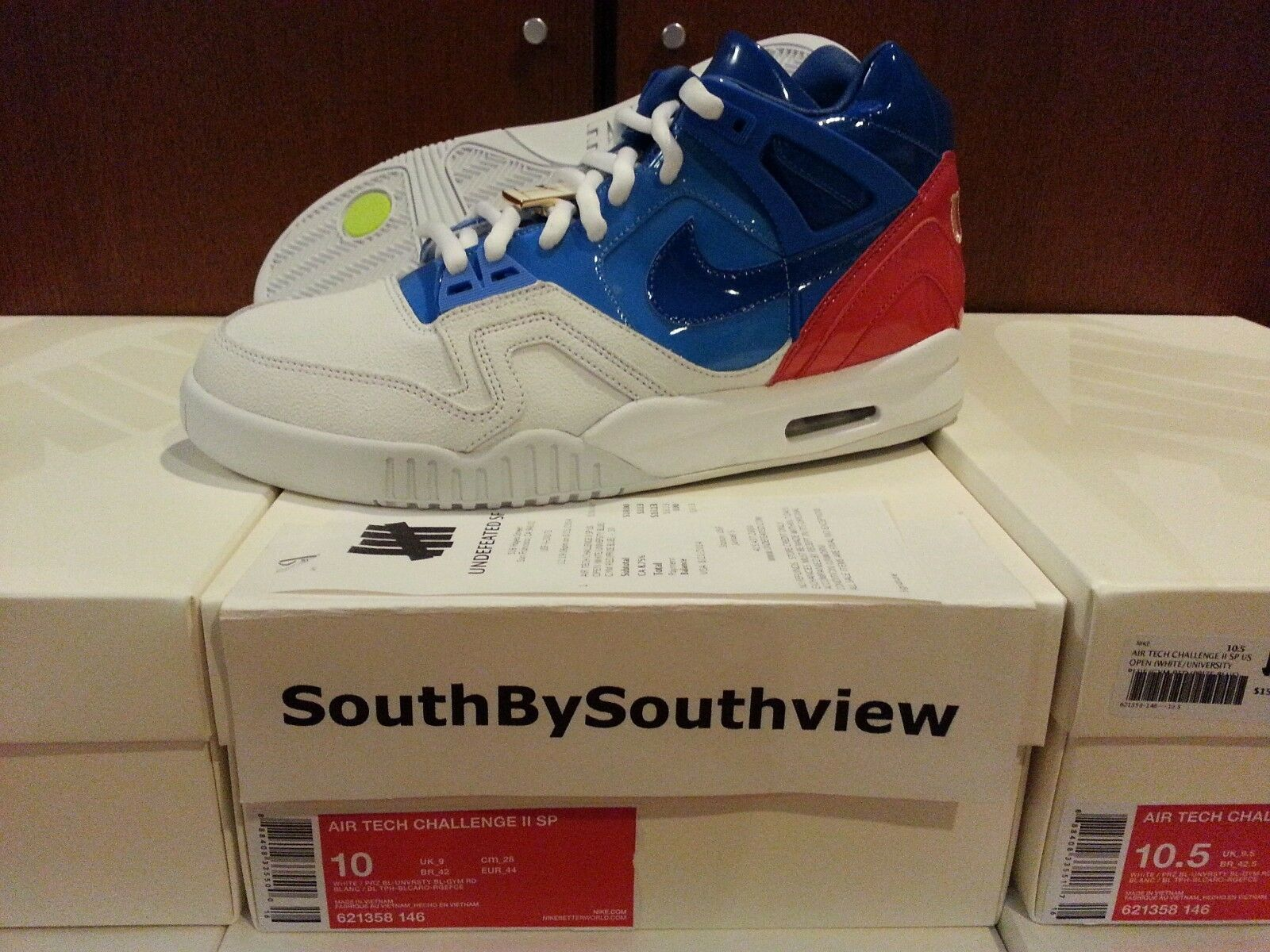 factory authentic f1e4d eaba4 Nike Nike Nike Air Tech Challenge 2 US Open Size 8 11 12 ii u.s. usa