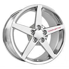 CHEVROLET CORVETTE Wheel Decals Set of 4 ZO6 ZR1 Grand Sport C6 C5 Racing Red