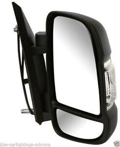 Peugeot Boxer 06-14 Lower Door Mirror Glass Heated Nearside LH Left Passenger