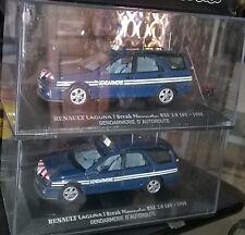 IXO RENAULT LAGUNA BREAK NEVADA RXE DE 1998 GENDARMERIE Autoroute Neuf En Boite