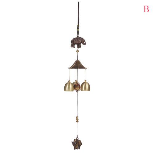 Antike Windspiel Röhren Glocken Garten Wandbehang Dekor Ornamente nTPI