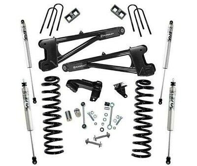F350 Diesel For Sale >> Sale 08 10 Ford F250 F350 Diesel 4 Superlift Radius Arm Kit Fox Shocks K981f Ebay