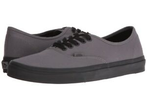 40fa285433 Image is loading Vans-Authentic-Pop-Outsole-Pewter-GrayBlack-Shoes-Shoes-