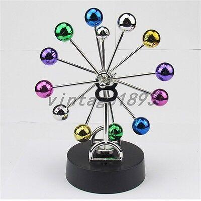 Colorful Ferris Wheel Balance Ball Physics Science Pendulum Desk Toy Craft