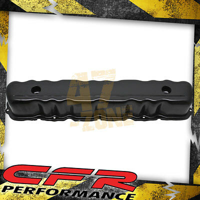 BLACK VALVE COVER FOR 60-83 FORD 144 170 200 250 STRAIGHT INLINE 6 CYLINDER