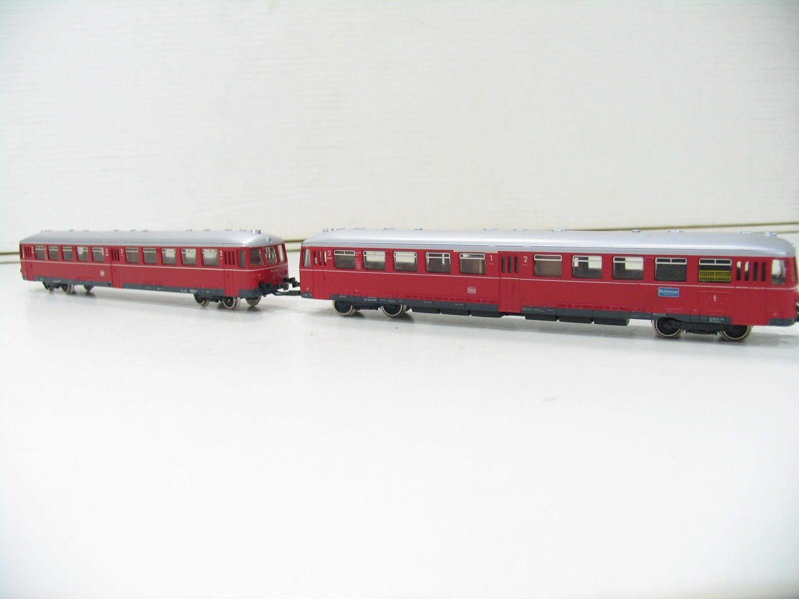 MÄRKLIN HAMO 3076 TRIEBWAGEN BR 515 red der DB 2 LEITER UMBAU    SP679