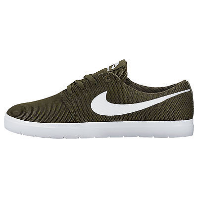Genuine Men's Nike SB Portmore Ultralight Skate Shoe BlackBlack