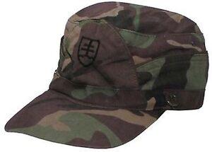a-Taglia-56-Cappello-da-campo-Esercito-Slovacco-USATO-ma-in-buone-condizioni