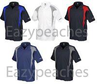 Reebok Golf Mens Size S-xl 2xl 3xl 4xl 5xl Colorblock Dri Fit Polo Shirts