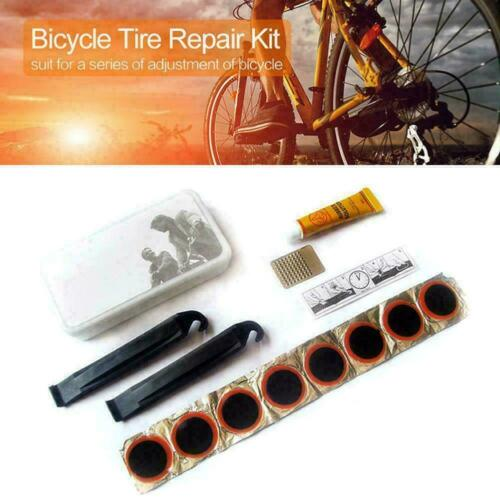 Portable Bicycle Bike Tire Repair Kits Tools Patch Cycling Equipment H9Z3 R A2Z2
