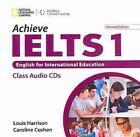 Achieve IELTS 1: Intermediate - Upper Intermediate by Caroline Cushen, Susan Hutchinson, Greg Cripe, Peter Wildman, Louis Harrison (CD-Audio, 2011)