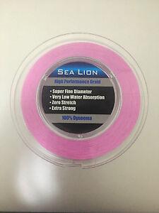 New-Sea-Lion-100-Dyneema-Spectra-Braid-Fishing-Line-20LB-500M-Purple