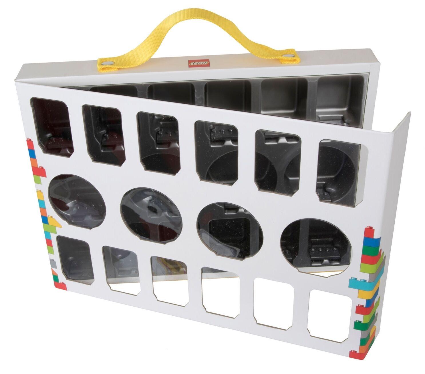 LEGO 851399-Minifigurenkoffer 851399-Minifigurenkoffer 851399-Minifigurenkoffer mit Tragegriff für 16 Minifiguren-Koffer-neu-new c3bc09