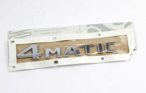 Mercedes-Benz Emblème 4 MATIC arrière hayon arrière a2058179900