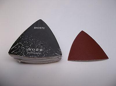BAOSTC 6 6 holes assorted120-180-240,hook and loop sanding disc,50PACK