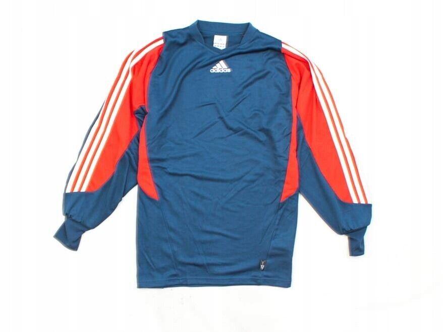 L Adidas Sport Mens Football Shirt Dark bluee L