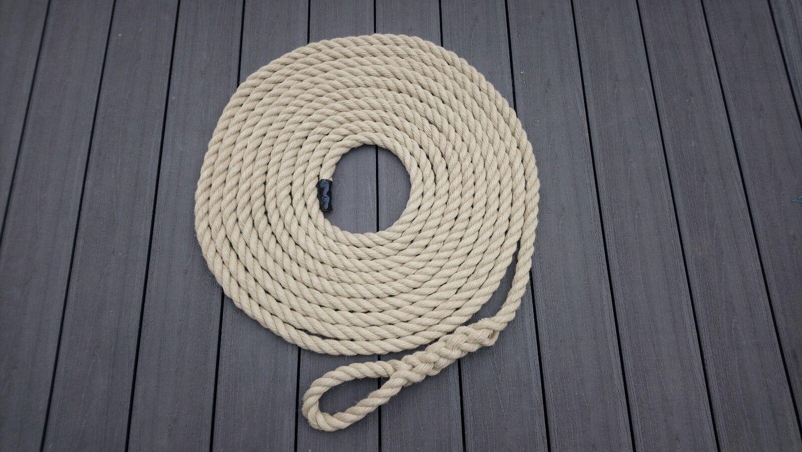 28mm Synthetic Hemp Gym Climbing Rope - Fitness - Training - Choose Length