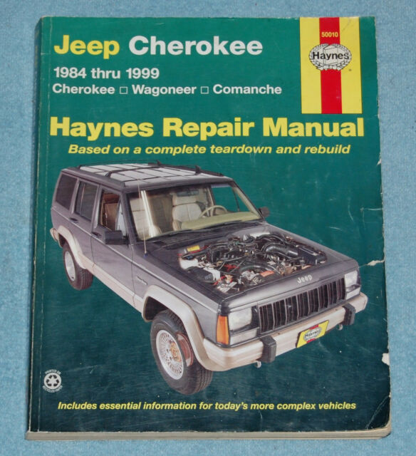 Haynes Jeep Cherokee Wagoneer Comanche 1984