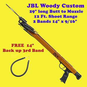 JBL-Woody-Custom-Speargun-Spear-Gun-29-034-Fish-Scuba-Free-Skin-Dive-Snorkel-Shoot