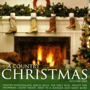 Various-A-Country-Christmas-CD-2008-New