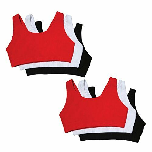 Fruit of the Loom Bras Womens Built-Up Sports Bra Pick SZ//Color.