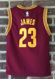 Youth Adidas Cleveland Cavaliers Lebron James Jersey #23 SIze ...