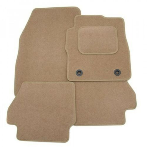 Tailored Car Mats ALL BEIGE TAN PEUGEOT 207 2 Clip