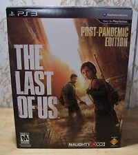 New! The Last of Us [Post Pandemic Collector's Edition] (PlayStation 3, 2013)