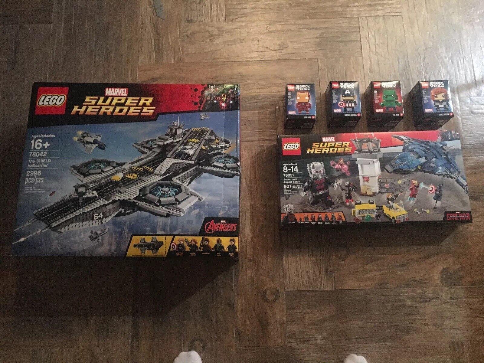Lego Marvel Marvel Marvel Super heroes 76042, 76051 72c685