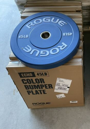 New! Pair Of Rogue Fitness Echo V2Bumper Plates 90lbs total