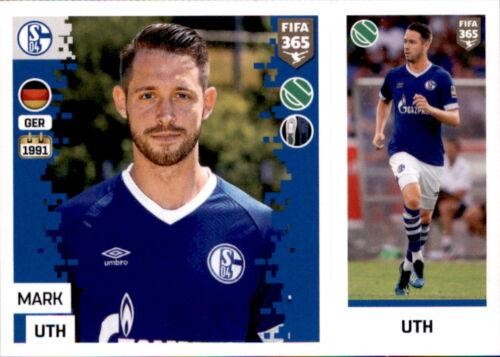Sticker 205 a//b Mark Uth Panini FIFA365 2019 FC Schalke 04