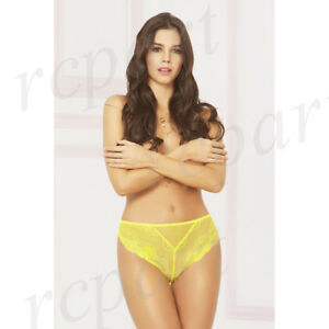 Womens Lace And Net High Waisted Thong Clothing, Shoes & Accessories