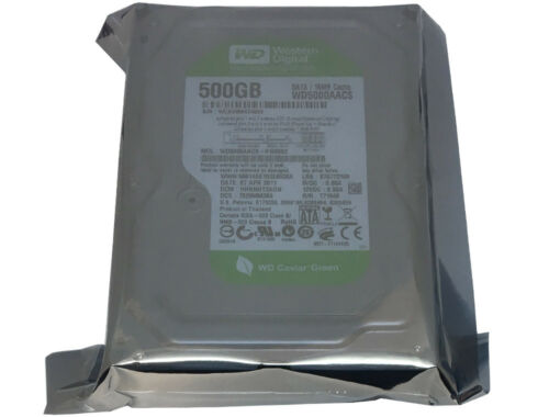 """WD5000AACS Western Digital 500GB 16MB Cache SATA 3Gb//s 3.5/"""" Desktop Hard Drive"""