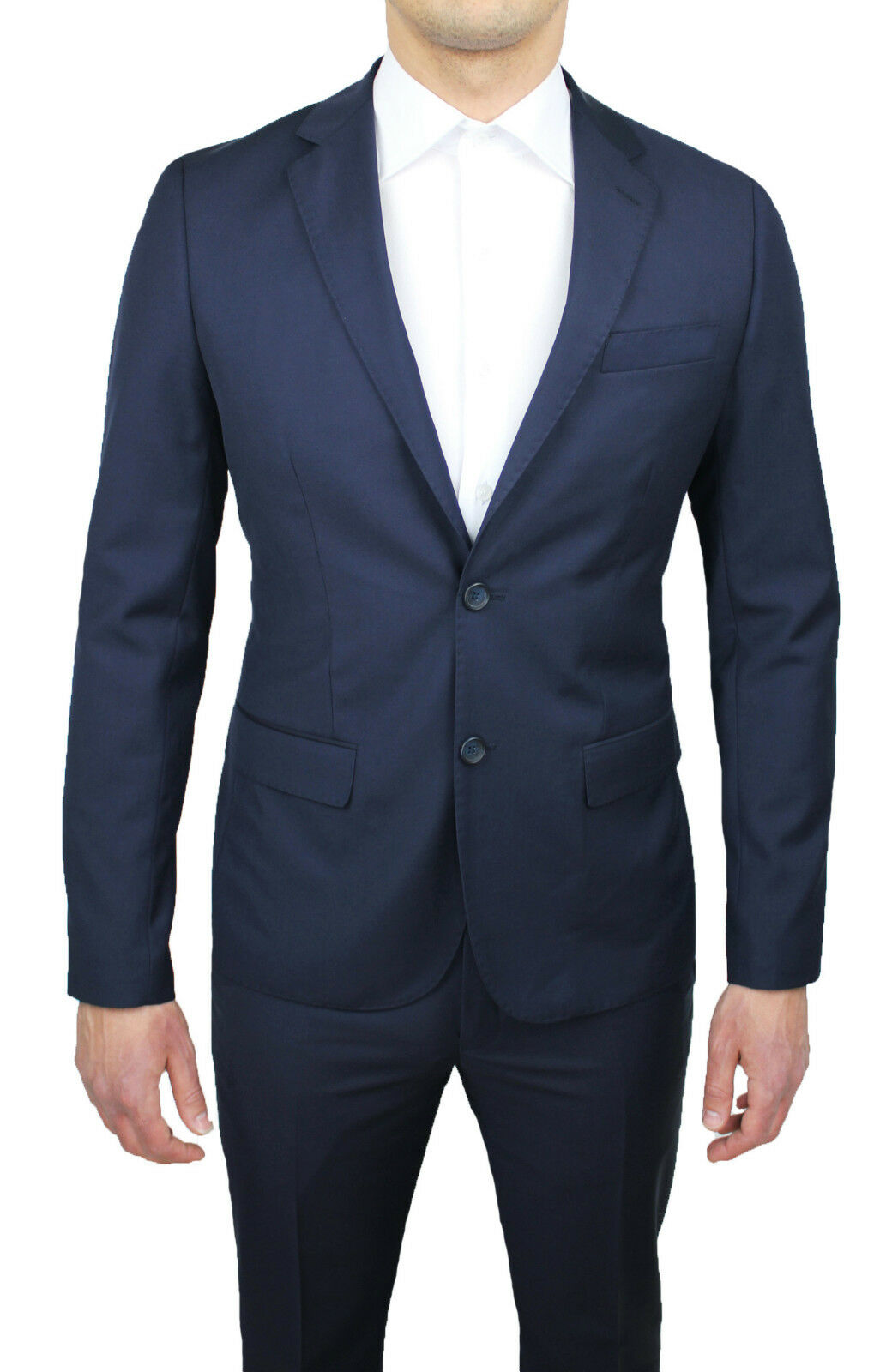 Kleidung Mann Diamant dunkelblau komplett Tag 42 44 46 48 50 52 54 56 58 60