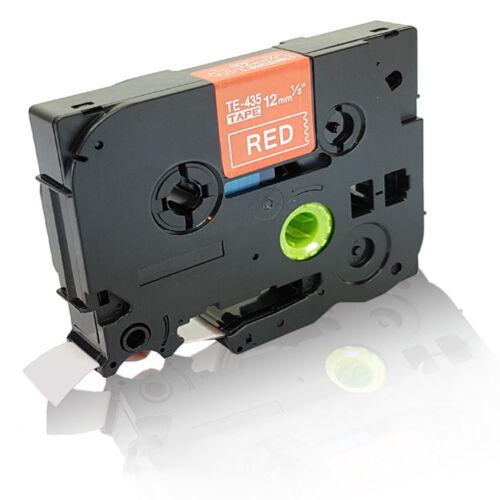 Extra kompatible Schriftband für Brother P Touch H 105 WB TZE 435 Kasset Easy Pr