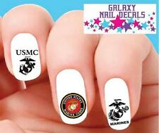 Waterslide Nail Decals Set Of 20 Usmc United States Marine Corps Mom Orted