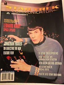 Star Trek Communicator Magazine  Back Issue Science Fiction Vintage 1996