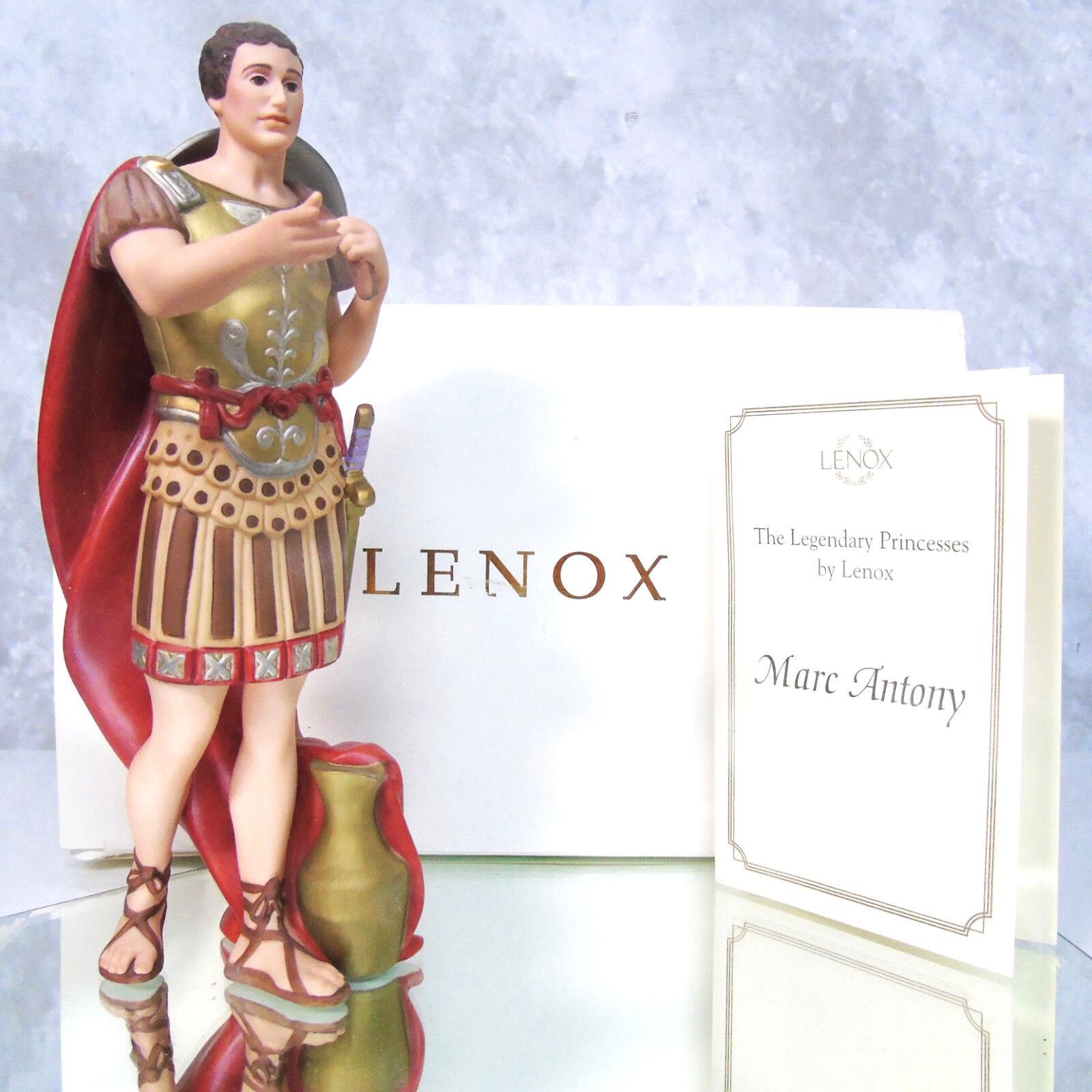 Lenox Legendary Prinzessin Marc Antony Limit. Ausgabe Figur Cleopatra Geliebten