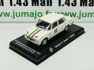 IT86N-Voiture-1-43-Hachette-ALFA-ROMEO-collection-Giulia-TI-Super-1963