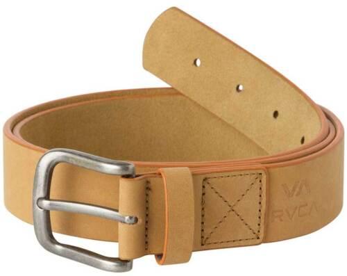 New Tan RVCA Truce Leather Belt